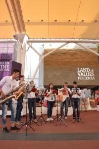 Gruppo Musicale Orione a Piazzetta Piacenza