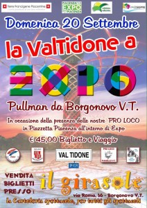 Pullman Val Tidone Expo Milano 2015