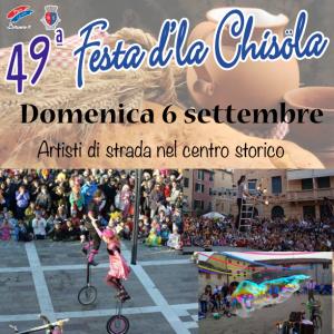 Festa d'la Chisöla artisti di strada