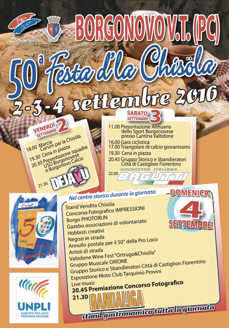 Festa d'la Chisöla a Borgonovo Val Tidone
