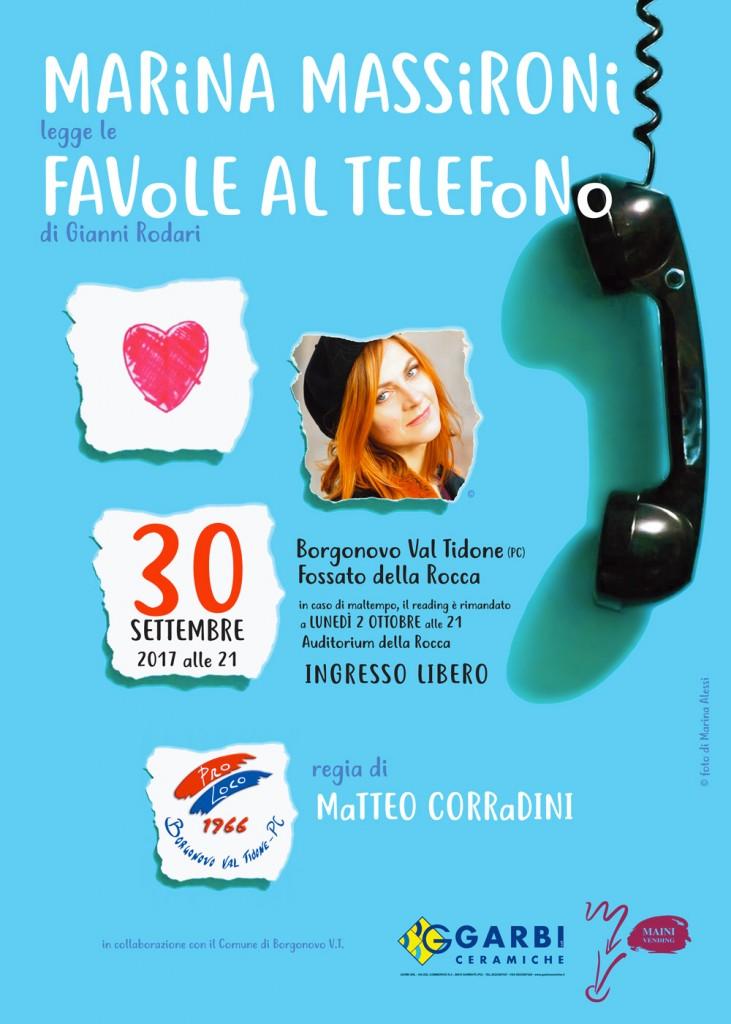 Marina Massironi a Borgonovo Val Tidone
