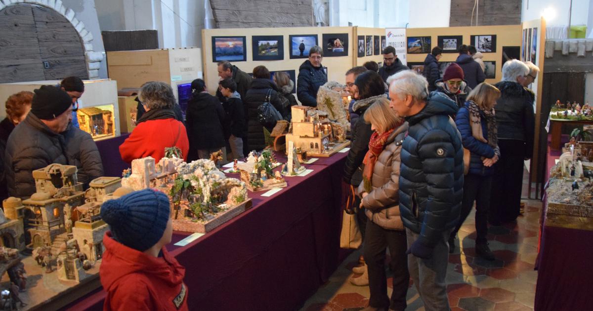 Mostra presepi a Borgonovo Val Tidone