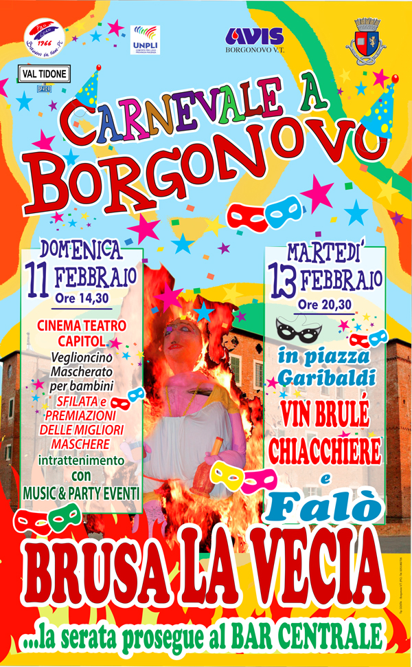 Carnevale a Borgonovo Val Tidone  2018