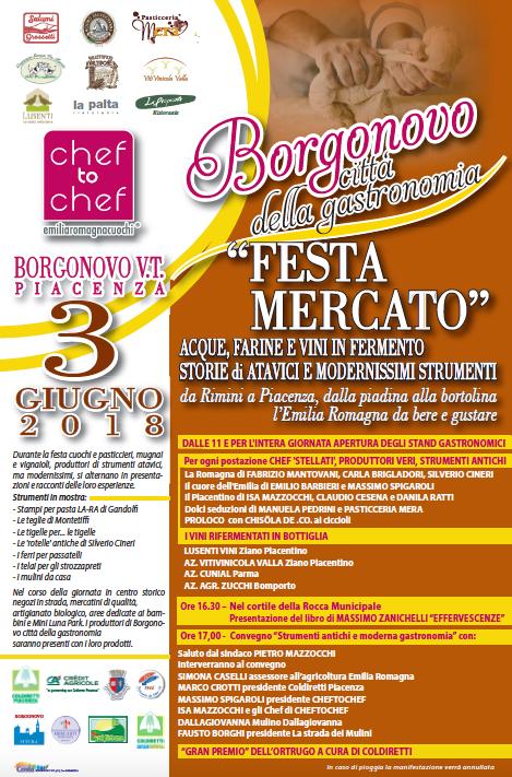 Festa Mercato Borgonovo Val Tidone