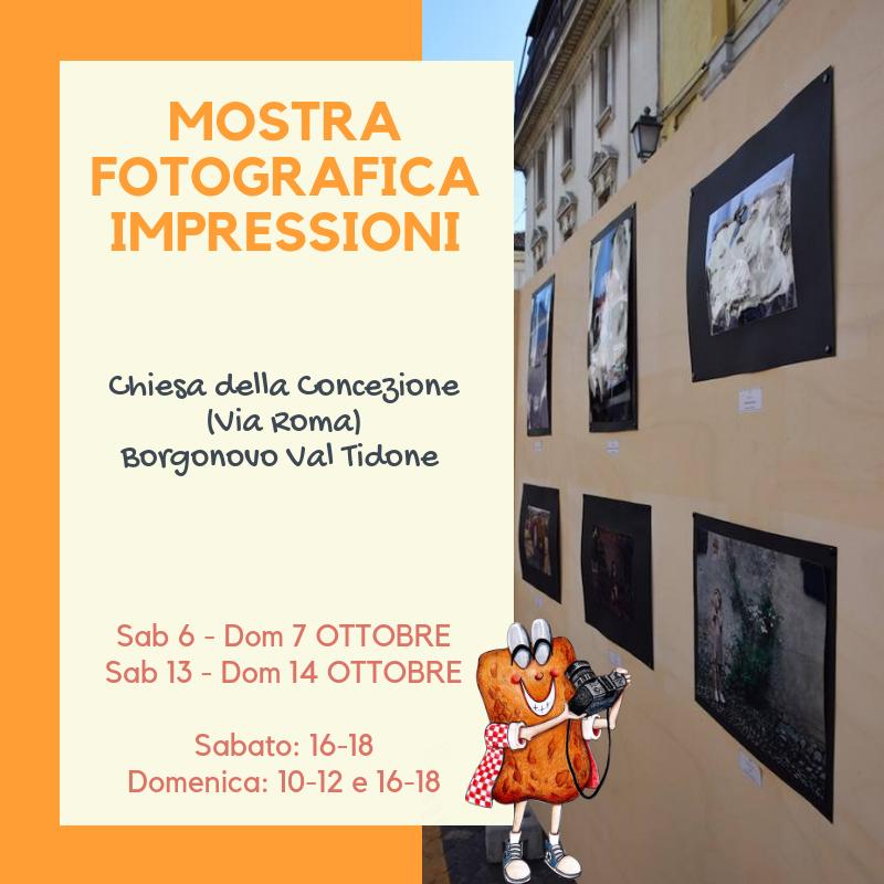 Mostra fotografica Impressioni Borgonovo