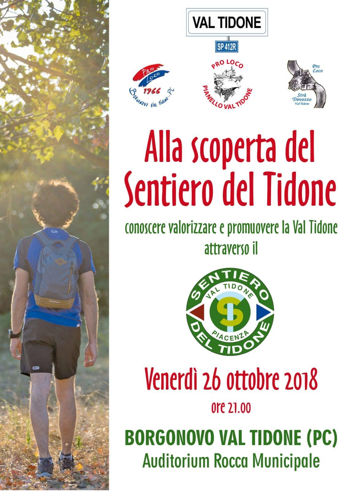 Alla scoperta del Sentiero del Tidone Borgonovo