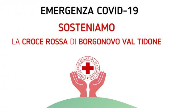 Raccolta fondi CRI Borgonovo Covid